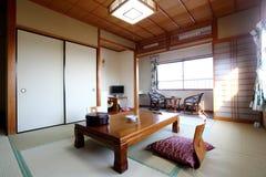 JAPANSK LOKAL Arkivfoton