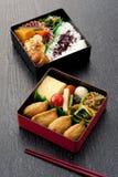 Japansk lunchask Arkivfoto