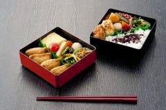 Japansk lunchask Arkivbild