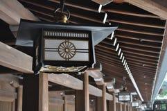 Japansk lykta Arkivbild