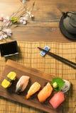 Japansk mat Arkivfoton