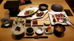 Japansk mat Arkivfoto