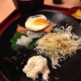 Japansk mat i Japan royaltyfri foto