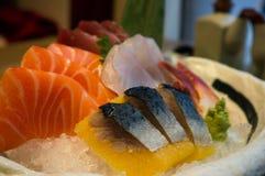 Japansk mat - sashimi Arkivfoton