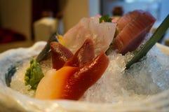 Japansk mat - sashimi Royaltyfri Foto