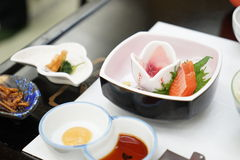 Japansk mat - Sishi Royaltyfri Fotografi