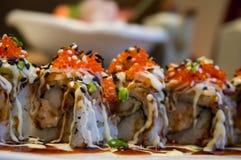 Japansk mat - sushi Arkivfoton