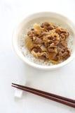 Japansk maträtt Arkivbild