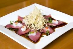 Japansk maträtt royaltyfri foto