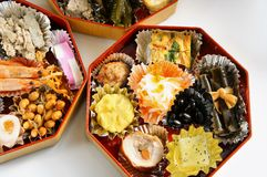 Japansk maträtt för nytt år Royaltyfri Fotografi