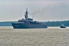 Japansk militär slagskepp fotografering för bildbyråer