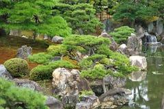 japansk park Royaltyfria Bilder