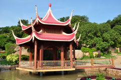 japansk park Arkivbild