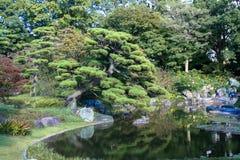 japansk park Royaltyfri Bild
