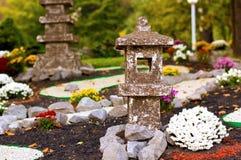 japansk parkstil Fotografering för Bildbyråer