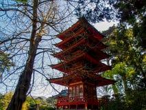 japansk paviljong arkivbild