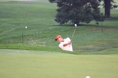 Japansk pro-golfare Ryo Fotografering för Bildbyråer