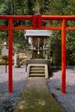 japansk relikskrin Arkivfoto