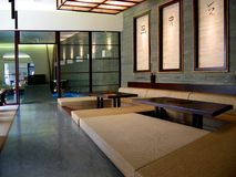 japansk restaurang Arkivfoton