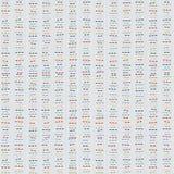 Japansk sashiko kopiera avstånd seamless modell Arkivbilder
