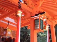 Japansk Shintorelikskrin i Japan Royaltyfria Bilder