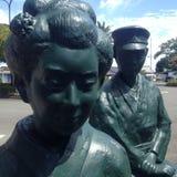 Japansk skulptur Royaltyfri Bild