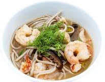 Japansk soppa arkivfoto