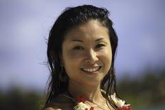 japansk ståendekvinna Royaltyfri Bild