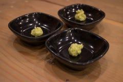 Japansk sushiWasabi Arkivbilder