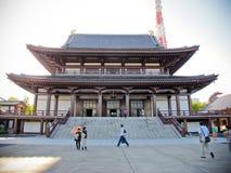 Japansk tempel Royaltyfri Fotografi