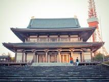 Japansk tempel Arkivfoton
