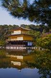 Japansk tempel Kinkaku Ji Arkivfoto