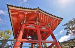Japansk tempelrelikskrin arkivbild