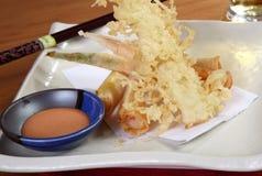 Japansk tempura Royaltyfri Foto
