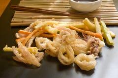 japansk tempura royaltyfri fotografi