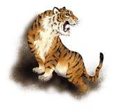 japansk tiger Fotografering för Bildbyråer