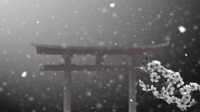 japansk torii Royaltyfria Foton