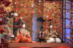 Japansk traditionell docka för Hina docka Arkivbilder