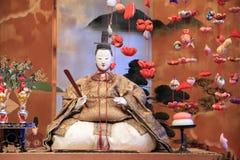 Japansk traditionell docka för Hina docka Royaltyfria Bilder