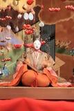 Japansk traditionell docka för Hina docka Arkivfoto
