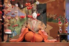 Japansk traditionell docka för Hina docka Royaltyfri Fotografi