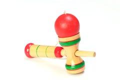 Japansk traditionell leksak - kendama Arkivbilder