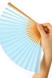 Japansk traditionell pappers- fan SENSU  Royaltyfri Fotografi