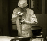 Japansk Udonnudelkock Royaltyfria Foton