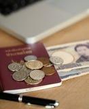 Japansk valuta Royaltyfria Foton
