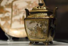japansk vase Arkivbilder