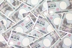 Japansk yen royaltyfria bilder