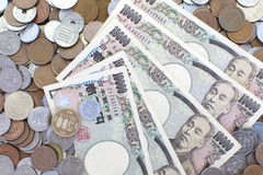 Japansk yen arkivfoto