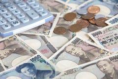 Japansk yen Royaltyfria Foton