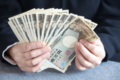Japansk yen fotografering för bildbyråer